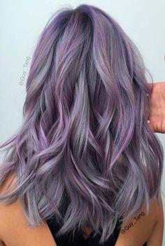 Romantic Light Purple Hair picture 2