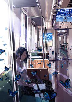 blue train [Original]