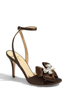 kate spade new york 'shelby' satin sandal