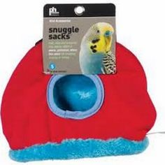 Small Red Snuggle Sack for Birds by Prevue Pet 1167