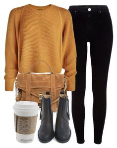 """""""Untitled #6527"""" by laurenmboot ❤ liked on Polyvore featuring River Island, Proenza Schouler and Acne Studios"""