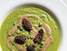 Spring Pea Soup with Morel Cream - MyNorth.com
