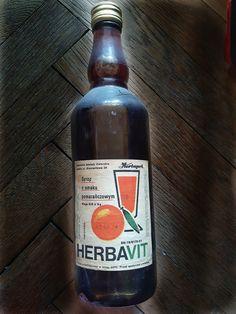 Honest Tea, Poland, Old School, Retro, Drinks, Bottle, Vintage, Historia, Nostalgia