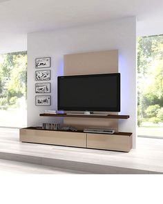 contemporary wall units and entertainment centers