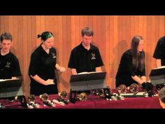 """St. Olaf Handbell Choir - """"Praise the Lord with Drums and Cymbals"""" - YouTube"""