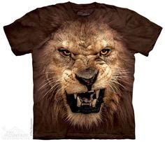 PRIKID - Big Face Roaring Lion T-Shirt, 166lei (http://prikid.eu/big-face-roaring-lion-t-shirt/)