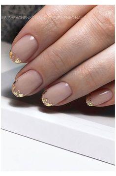 Nagellack Design, Nagellack Trends, Chic Nails, Stylish Nails, Short Nail Designs, Simple Designs, Gold Nail Designs, Nail Design For Short Nails, Best Nail Designs