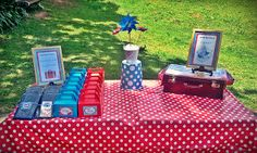 We aspire to create events that harmoniously tell a story of those being celebrated, exceeding expectations, and leaving your guests mesmerized. Picnic Blanket, Outdoor Blanket, Planes Party, 1st Birthday Parties, Airplane, Events, Weddings, Plane, Happenings