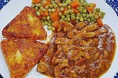 Rahmgeschnetzeltes 'Hubertus-Art ' - Atıştırmalıklar - Las recetas más prácticas y fáciles New Recipes, Vegetarian Recipes, Dinner Recipes, Healthy Recipes, French Recipes, Healthy Meals To Cook, Healthy Cooking, Vegan Pumpkin, Pumpkin Recipes