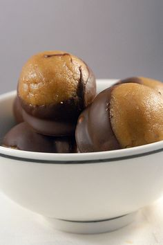 Chocolate Covered Peanut Butter Bourbon Balls