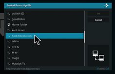 How To Install Kodi Revolution Repository Step 11