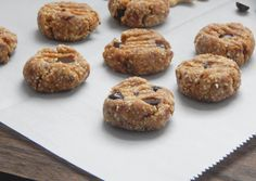 November Before December this Year {Recipe: No Bake Cashew Chocolate Chip Cookies} - Be Whole. Be You.