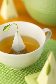Cute leaf teabag _ Simpatica bustina per il tè a forma di foglia - #Tea #Te' #The'