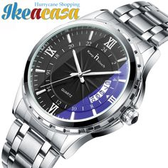 Luxury Brand Men Watch Waterproof Noctilucent Casual Retro Relogio Luminous Steel Band Calendar Ikeacasa Montre Orologio Uhr часы Reloj