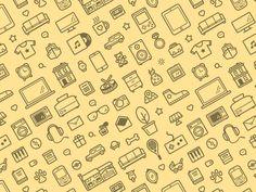 DESIGN TRENDS — ICON PATTERN — Muzli -Design Inspiration — Medium