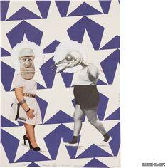 The Journey (Psychogram in 360 Collages) -- Part 1: The half Journey -- *Hannah Höch und Max Ernst diskutieren über die Kunst der Collage* Collage 168 from 360 // www.marcelbuehler.com/