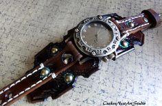 Steampunk Watch Womens Watch Wrist Watch di CuckooNestArtStudio