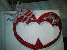Marco de corazon 14 de febrero.