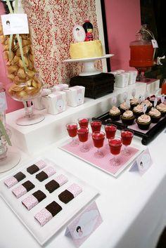 Cherry Blossom Spa Party