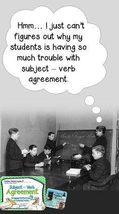 subject-verb agreement They really should just learn this through the writing process.