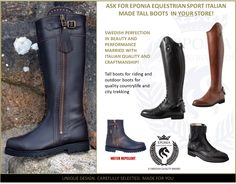 Eponia Equestrian Sports Tall and outdoorboots