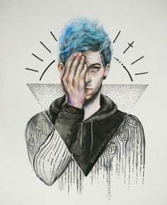 Josh Dun|-/ clique art