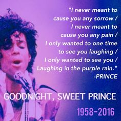 Rest in Peace, sweet marvelous Prince  #ripPrince