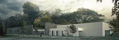 Dalseong Citizens Gymnasium International Architectural Competition - kâat architects