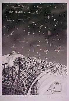 'The heaventree of stars', 1998 by Richard Hamilton United Kingdom) Caspar David Friedrich, Richard Hamilton, Ursa Major, Art Uk, United Kingdom, Pop Art, Stars, Abstract, Movie Posters