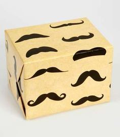 This Mustache Gift Wrap is for the Ultra Hip trendhunter.com
