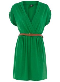 Green Dress / Dorthy Perkins