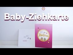 Kreativer Montag 105 - Baby-Ziehkarte   inklusive Outtakes - YouTube