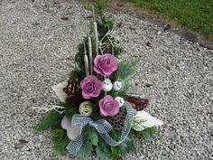 Grabgesteck Gesteck Allerheiligen Totensonntag Grabschmuck Gedenken 55x50 Exoten Funeral Flowers, Ikebana, Flower Arrangements, Floral Wreath, Wreaths, Garden, Plants, Christmas, Inspiration