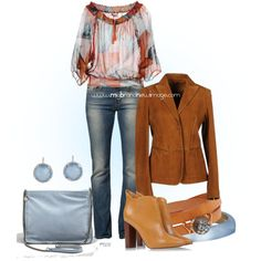 #528 - Casual chic, created by elke-koscher on Polyvore