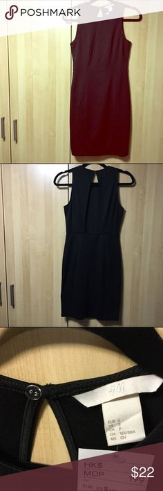 H&M Little Black Dress LBD from H&M bought from Hong Kong. Bodycon style sleeveless with a sexy cut opening in back down to the waist. Button closure on top, stretchy material body hugging. Questions welcomed. H&M Dresses Backless