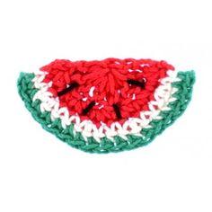 Motif pastèque au crochet - La Mercerie Chic