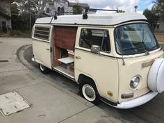 Joe B. recently restored a 1971 VW Westfalia Camper Bus and added all new curtains. Finding the right glide for the sliding door privacy curtain was a challenge UNTIL he contacted Curtain-Tracks.