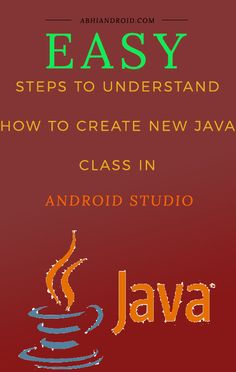 A Class consists of a set of objects that share a common Structure and behavior in JAVA. Below are the steps to create new JAVA class in Android Studio. Related: Class And Objects In JAVA Coding For Beginners, Studio App, Studio Layout, Android Studio, Tech Gadgets, Java, Android Apps, Programming, Mobile App