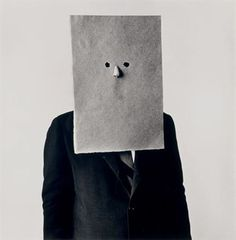 IRVING PENN (B. 1917)  Saul Steinberg in Nose Mask, New York, September 30 1966