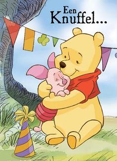 Een dikke knuffel voor jou! A hug for you.