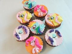 My little pony cupcakes - Cake by Cake That Bakery - CakesDecor