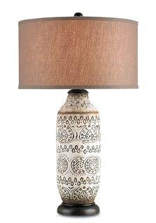 Intarsia Table Lamp