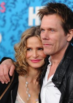 Kyra Sedgwick and Kevin Bacon (married since 1988)