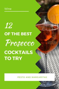 There are lots of recipes for Prosecco cocktails and many of them use only a few ingredients.  That makes them simple to make and fun with fresh, fruity tastes.  Check out these 12 ideas to serve something a little different with that bottle of Prosecco and impress your guests! #prosecco #proseccococktails Best Cocktail Recipes, Drink Recipes, Dinner Recipes, Cocktails To Try, Prosecco Cocktails, Wine Drinks, Alcoholic Drinks, Cocktail Making, Christmas Drinks