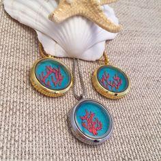 New coral necklaces! I love these colors for summer! #etsy #etsyshop #etsyelite #etsyshare #embroidery #etsyseller #etsyfashion #etsyjewelry #thatsdarling #theetsyshowcase #handembroidery #handembroidered #coral #coralnecklace #summer #summernecklace