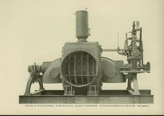 The invention and history of water turbines or steam turbines