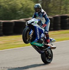 Jenny Tinmouth -  the first woman to win a British Supersport Cup race and the World's Fastest Woman around the Isle of Man TT