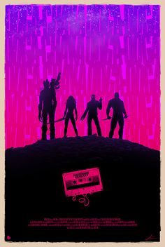 pixalry:  Guardians of the Galaxy - Created byMarko Manev Part of thePoster Posse Project #9over atBlurppy!