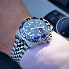 :) - Page 2 - Rolex Forums - Rolex Watch Forum Dream Watches, Cool Watches, Rolex Watches, Rolex Gmt Master 2, Rolex Batman, Rolex Cellini, Hand Watch, Rolex Submariner, Leather Watch Bands