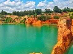 Unusual Things To Do in Chiang Mai weird in chiang mai canyon quarry 2